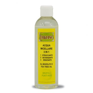 Acqua Micellare 3 in 1 250ml - Linea Supersapone Tabiano