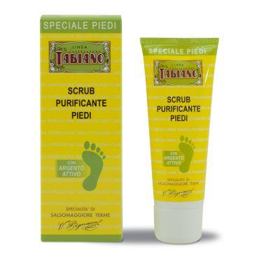 scrub piedi purificante esfoliante tabiano