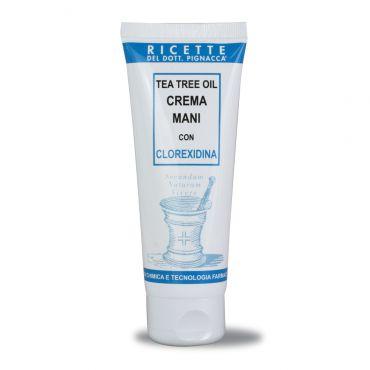 Tea Tree Oil Crema Mani con Clorexidina