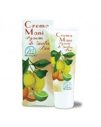 Crema Mani agli Agrumi di Sicilia BIO 75ml - Carezza Mediterranea