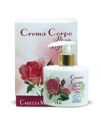 Crema Corpo alla Rosa Ligure BIO 250ml - Carezza Mediterranea