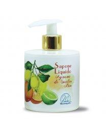 Sapone Liquido agli Agrumi di Sicilia BIO 350ml - Carezza Mediterranea