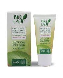 Crema Viso Soft giorno e notte 50ml - Bio Lady
