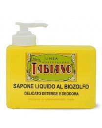 Sapone Liquido al Biozolfo 250ml - Linea Supersapone Tabiano
