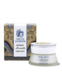 Crema Antirughe Mirtillo NOTTE 50ml - Carezza Salsomaggiore