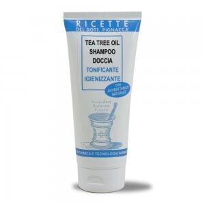 Tea Tree Oil Shampoo Doccia Tonificante Igienizzante 200ml - Ricette del Dott. Pignacca