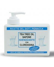 Tea Tree Oil Sapone Igienizzante con Clorexidina 250ml - Ricette del Dott. Pignacca