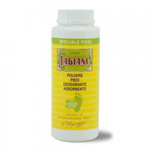 Polvere Piedi Deodorante Assorbente 80g - Linea Supersapone Tabiano