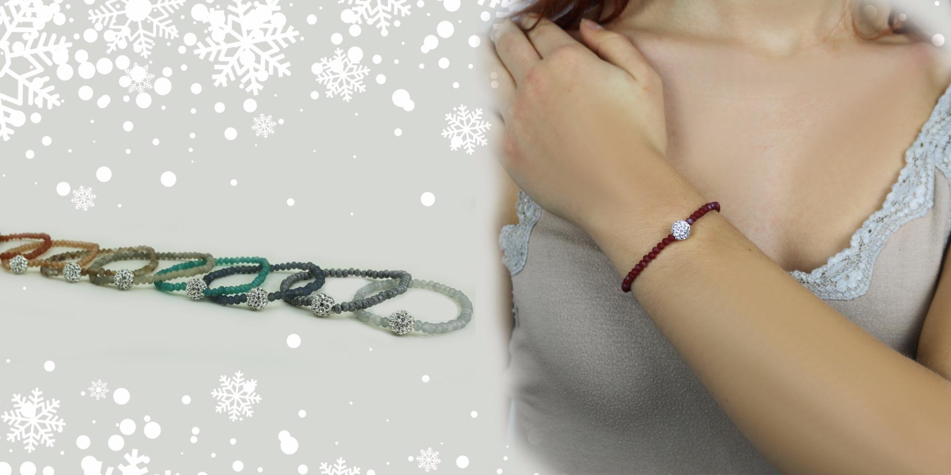 regalo natale bracciale colorato