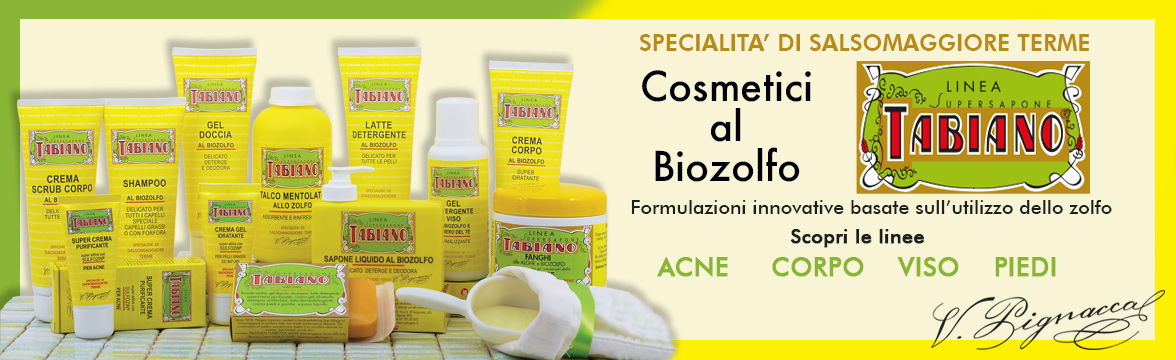 Cosmetici biozolfo;
