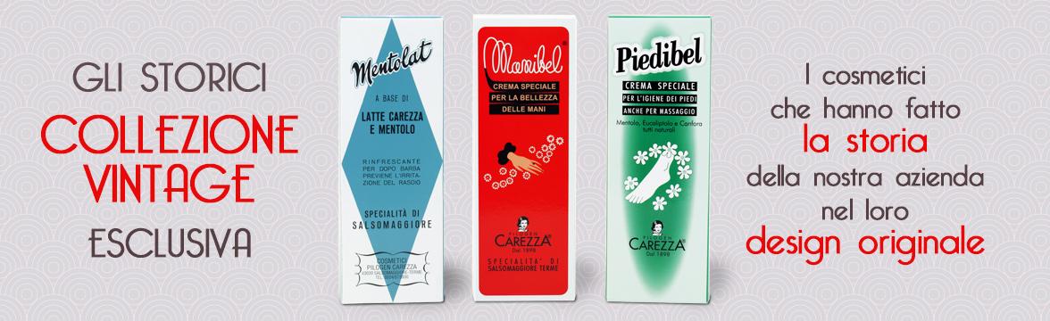 cosmetici pilogen carezza vintage