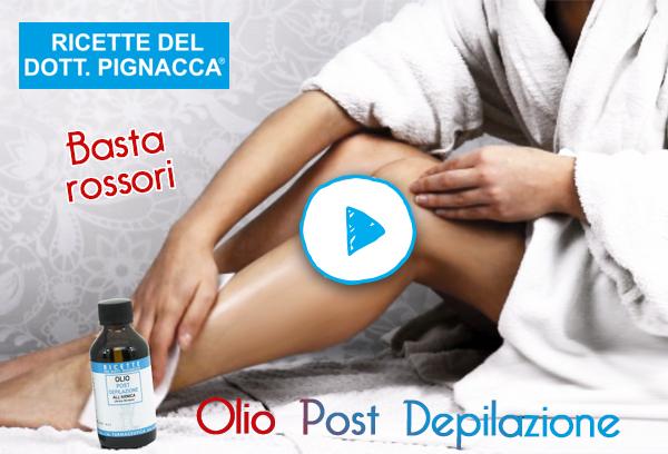 sconto olio post depilazione